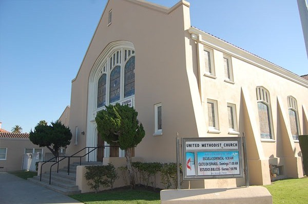 commercial painting contractor Churches