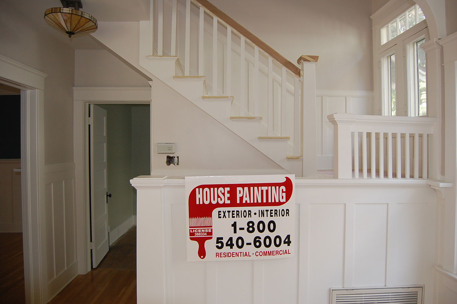 interior house painting contractor